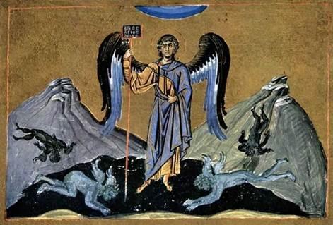 Минологий императора Василия II. Константинополь, 979-989