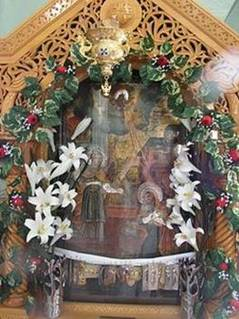 Храмовая икона Благовещения