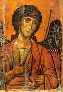 Архангел Михаил. Икона. Фрагмент. Монастырь святой Екатерины (Синай). Источник: прислано посетителем нашего сайта