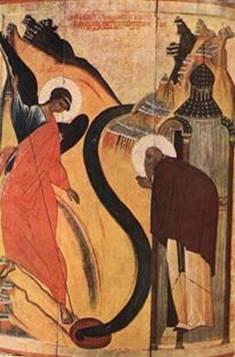 Чудо Архангела Михаила в Хонех. Источник: прислано посетителем нашего сайта