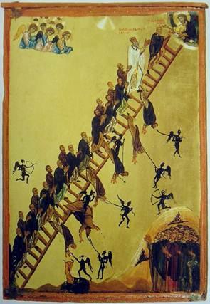 Лествица. Синай, XII век