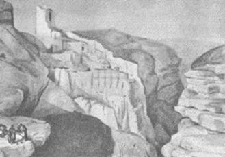 Монастырь святого Саввы Освященного в Палестине близ Вифлеема