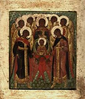 Икона «Собор Архангелов». Источник: прислано посетителем нашего сайта