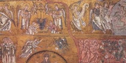 Фрагмент мозаики «Страшный суд». Торчелло, XIII век